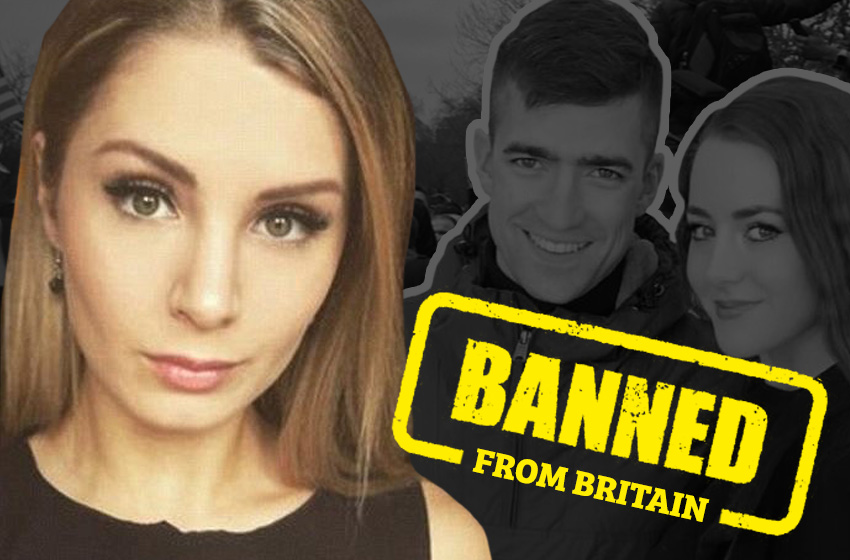 Canadian journalist Lauren Southern BANNED for life from Britain