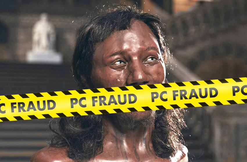 Leftists push ancient Black Briton Cheddar Man Hoax