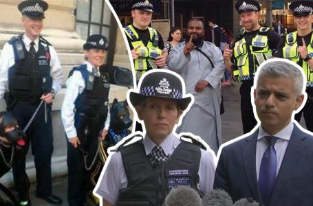 Britain's political police now a 'SERIOUS risk of HARM' to the public