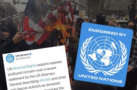 UN delete endorsement Antifa terror group