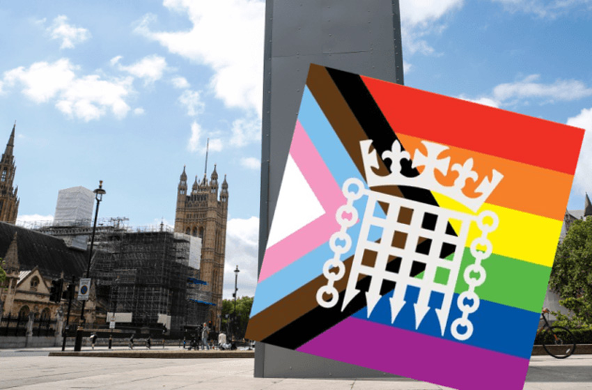 Parliament gets super woke with new multi-coloured rainbow logo